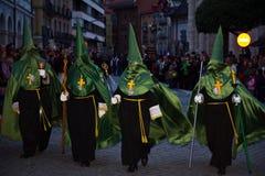 Settimana santa a Valladolid Fotografia Stock