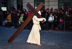 Settimana santa a Valladolid Fotografia Stock Libera da Diritti