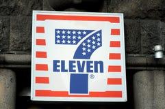 SETTIMANE DELL'AMERICANO DI 7ELEVEN CELEBTARES Fotografia Stock Libera da Diritti