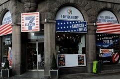 SETTIMANE DELL'AMERICANO DI 7ELEVEN CELEBTARES Immagini Stock Libere da Diritti