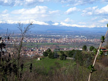 Settimo Torinese view Royalty Free Stock Images