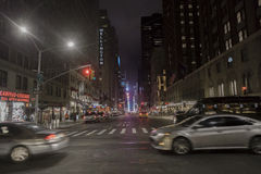 settimo viale, New York Immagini Stock Libere da Diritti