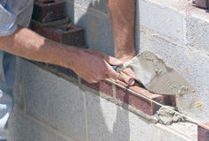 Setting Brick Royalty Free Stock Photo