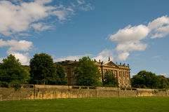 The setting of chatsworth Stock Images