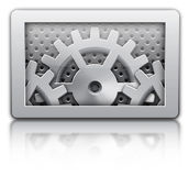 Setting gears icon Stock Images