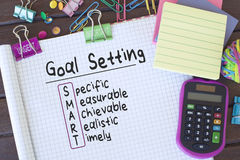 Setting Goal Royalty Free Stock Photo