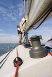 Setting Sail Royalty Free Stock Photography
