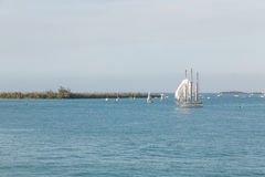 Setting Sails Royalty Free Stock Images