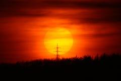Setting Sun Stock Images