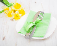 Setting table Stock Images