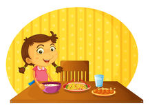 Setting The Table Royalty Free Stock Images