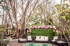 Setting wedding in Thailand. Stock Photography
