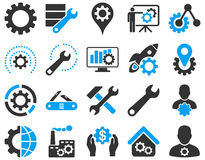 Free Settings And Tools Icons Stock Images - 56408014