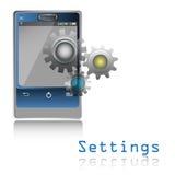 Settings Stock Photo