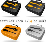Settings icon Royalty Free Stock Photo