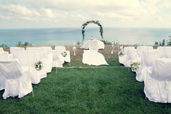 Settings for a wedding Stock Image