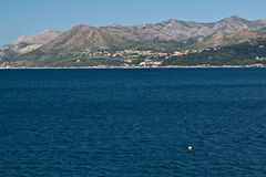 Settlement at the Adriatic coast, Croatia Stock Images