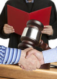 Settlement agreement Stock Photos