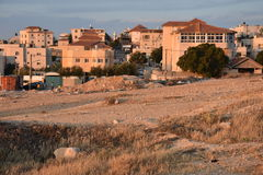 Settlement of Arar in the Negev Desert, Israel Royalty Free Stock Photo