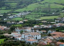 Settlement at the Azores Stock Photography