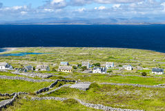 Settlement on Inishmore, Ireland Royalty Free Stock Photography