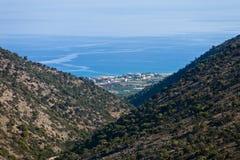 Settlement of Malia. Crete - Greece - Settlement of Malia Royalty Free Stock Photo