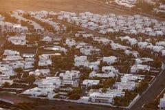 Settlement of new houses Stock Photo