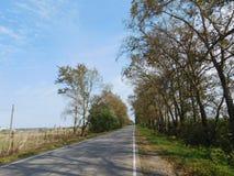 Settlement road. Royalty Free Stock Photos