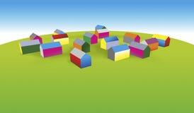 Settlement Stock Image