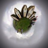 Settlement Sphere stock image