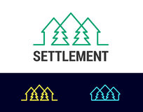 Settlement Royalty Free Stock Images