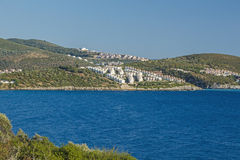 Settlements in Kusadasi, Turkey Royalty Free Stock Photo