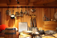 Settlers Tools. At Fort Langley National Historic Site, British Columbia, Canada Royalty Free Stock Photos