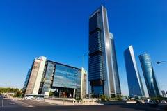 Settore commerciale di Torres di cuatro. Madrid immagine stock