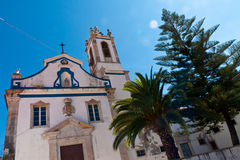 Setubal Church Royalty Free Stock Photos