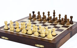 Setup chessboard Royalty Free Stock Images