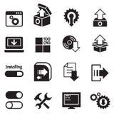Setup , configuration, maintenance icon Stock Photo