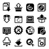 Setup , configuration, maintenance & Installation icon Stock Photo