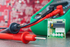 Setup, repair of electronic equipment. Develop or hobby-related electronics.  Stock Photos