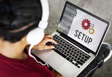 Setup Settings Configuration Tools Concept Stock Photos