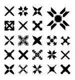 Setów krzyże Zdjęcie Stock