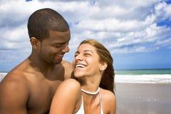 Setzen Sie Ferien auf den Strand Lizenzfreies Stockfoto