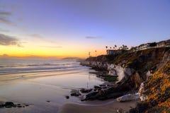 Setzen Sie Ferien auf den Strand Stockbilder