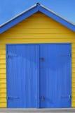 Setzen Sie Hütte auf den Strand Lizenzfreie Stockfotografie