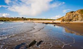Setzen Sie in Irland auf den Strand Stockfotografie