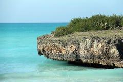 Setzen Sie in Kuba auf den Strand Lizenzfreie Stockfotografie