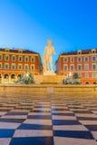 Setzen Sie Massena quadratisches Nizza, französisches Riviera Stockbild