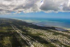 Setzen Sie Paradies, wunderbaren Strand, Strand in der Region von Arraial tun Cabo, Zustand von Rio de Janeiro, Brasilien Südamer lizenzfreie stockbilder