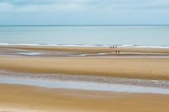 Setzen Sie in Schottland auf den Strand Lizenzfreie Stockfotografie