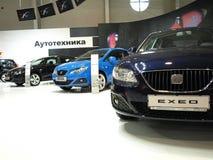 Setzen Sie Standplatz an der Sofia-Autoausstellung Lizenzfreies Stockfoto